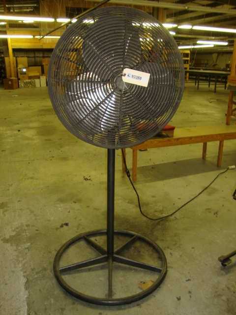 Pedestal Fans In Factory : Factory support equipment air compressors chairs metal